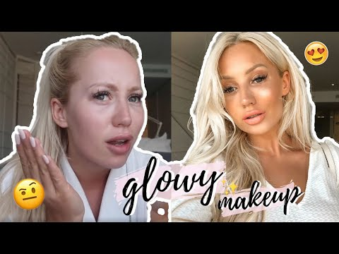 MY GO-TO SUMMER GLOWY MAKEUP | GRWM ON HOLIDAY! | ELLE DARBY | AD thumbnail