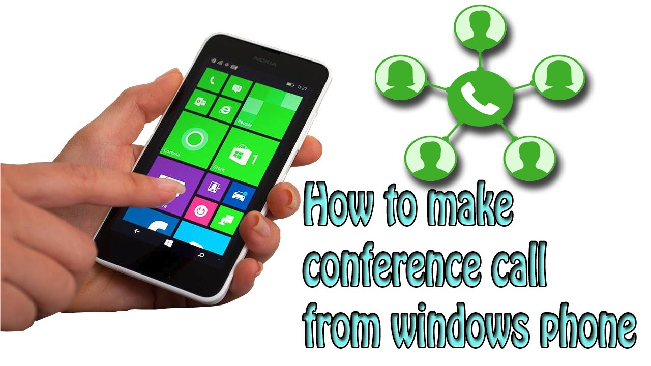 How to make conference call on windows 10 phone / Lumia without apps