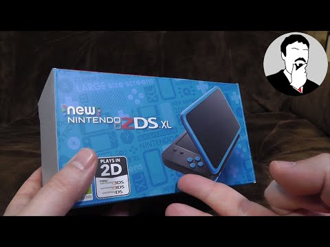 A Look At A Nintendo 2DS XL | Ashens