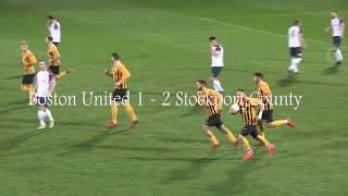 Boston United v Stockport County Highlights 05032019
