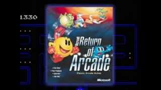 Microsoft Return of Arcade - Revenge of Arcade Official Trailer (1996-98, Microsoft/Namco)