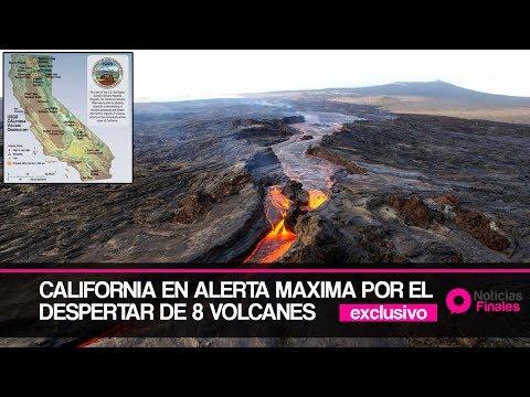 Volcán de Hawái, aviso a California y cierre del aeropuerto de Dénver.