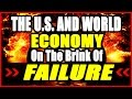 DAVID STOCKMAN The US and World Economy Are On The Brink Of Failure Be Careful