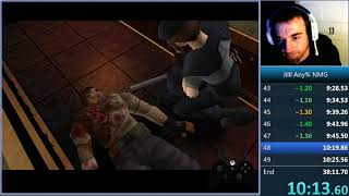 Resident Evil 1 World Record Speedrun - Jill Any% NMG - 38:09