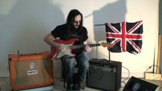 EBS MetalDrive and UniChorus with guitar, by Steve Webb
