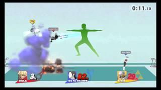 Smash Stance + Back Slash = Last Second KO