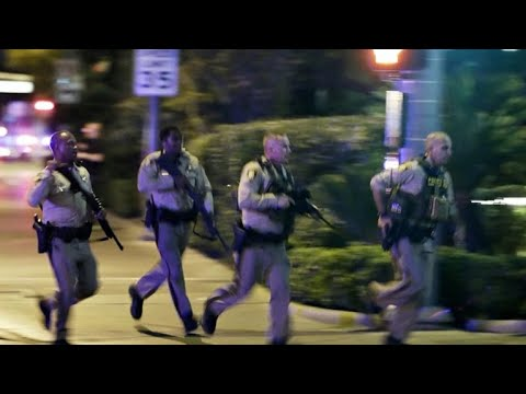 Shift in the Las Vegas shooting timeline raises questions about police response