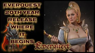EVERQUEST 20th ANNIVERSARY - 🎆(Level/Game System Showcase) True Old-School MMORPG Grind Continues