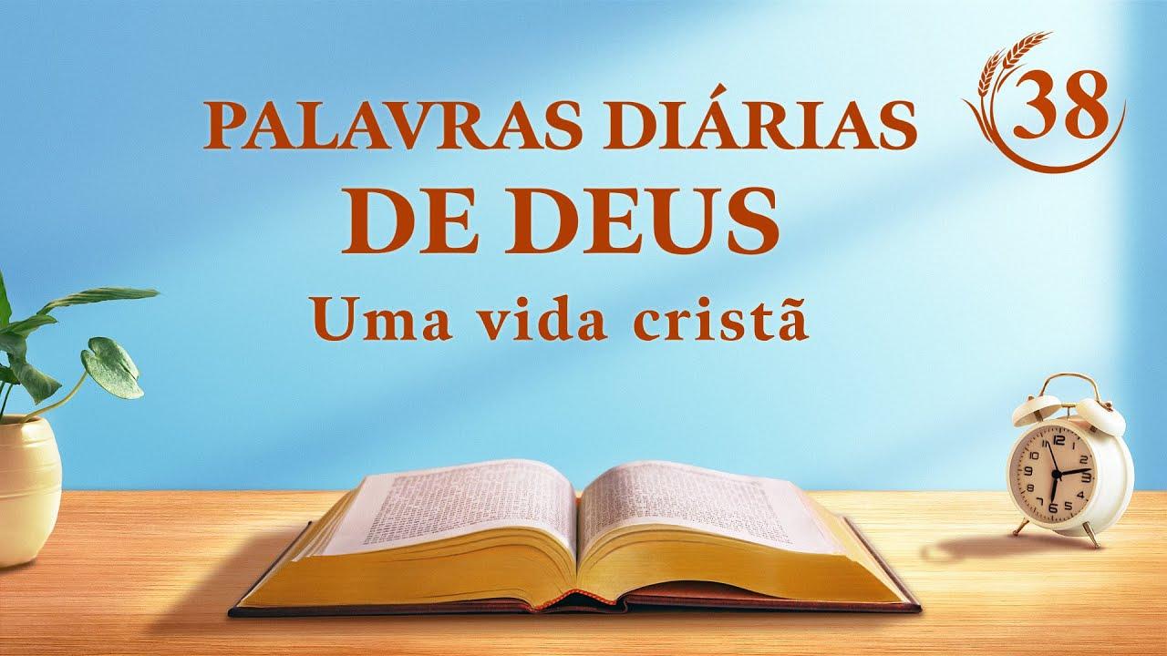 """Palavras diárias de Deus   """"A visão da obra de Deus (2)""""   Trecho 38"""
