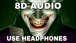 Joker bgm 8D AUDIO |Bass Boosted |Use Headphone