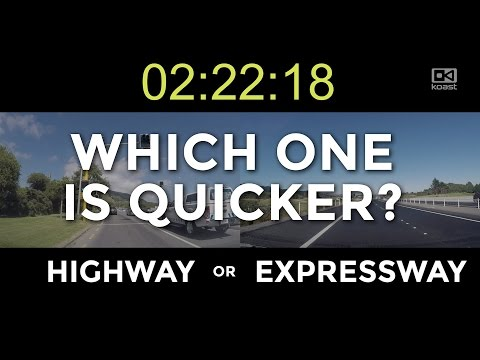 State Highway 1 vs Kapiti Expressway - which is quicker?