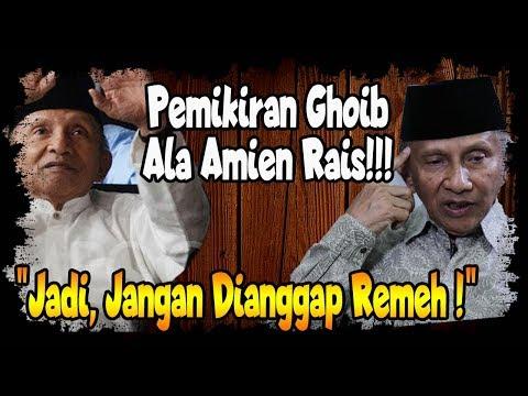 Amien Rais : Jokowi Be(bek) Lu(mpuh)  Ah, Masak...