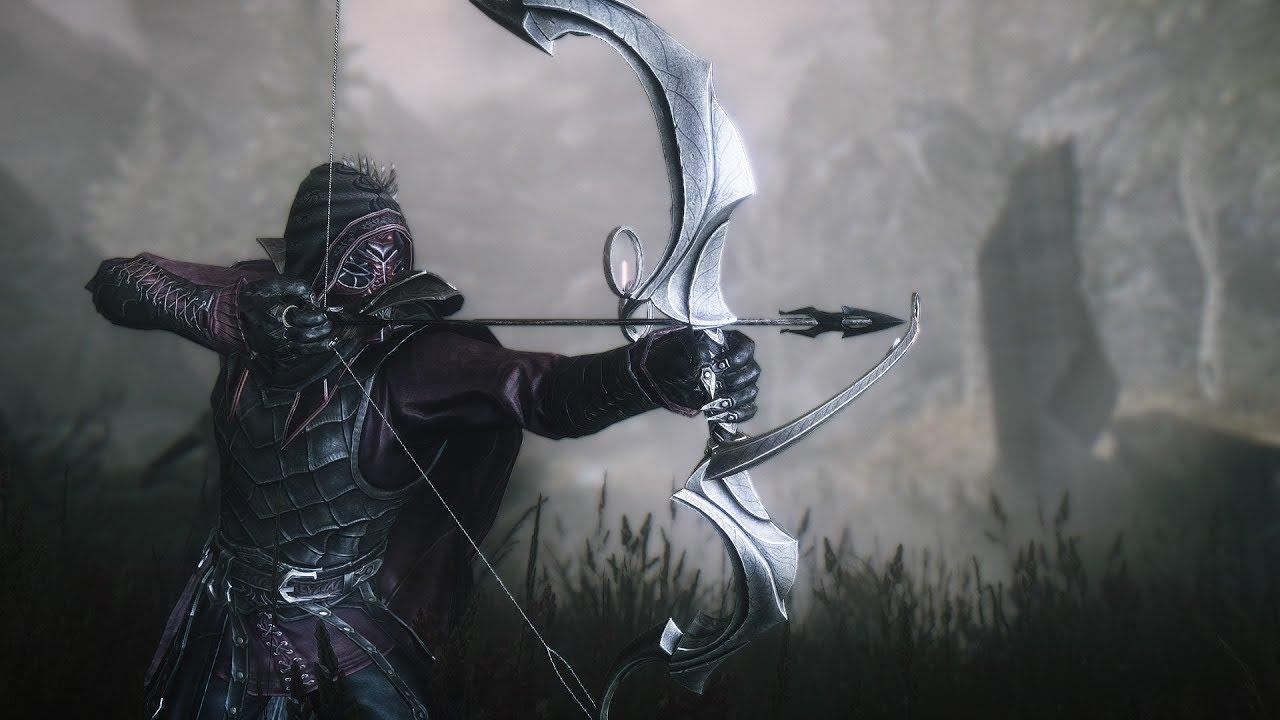 Беспринципный редгард-лучник Skyrim Requiem 2.0.2, сборка v4.1 - YouTube