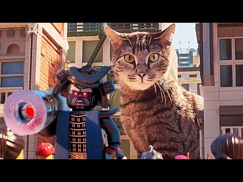 The LEGO Ninjago Movie Video Game The Ultimate Weapon! Kitty Cat Laser Pointer - YouTube