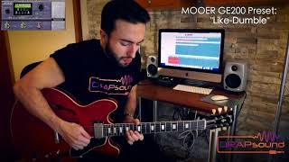 "Luca Privitera plays Mooer GE200 Preset: ""Like-Dumble"""