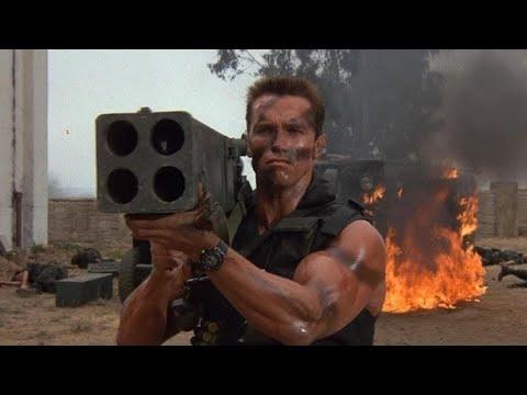 Download Arnold Schwarzenegger,  Commando (1985) - Full-Hd