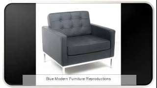 Blue Modern Furniture Reproductions