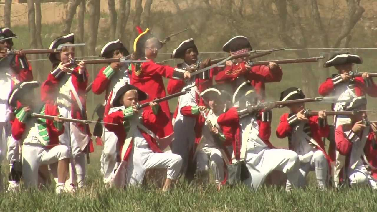 Battle of Cowpens' reeanctment - YouTube