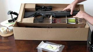 Barnett Ghost crossbow unpackaging usa.flv