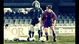 Xavi Hernandez ● Barcelona B vs Real Madrid Castilla ● 1997/98