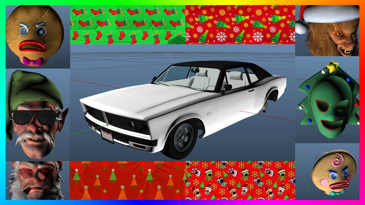 GTA 5 Christmas DLC Festive Surprise 2015 Details! - NEW Car ...