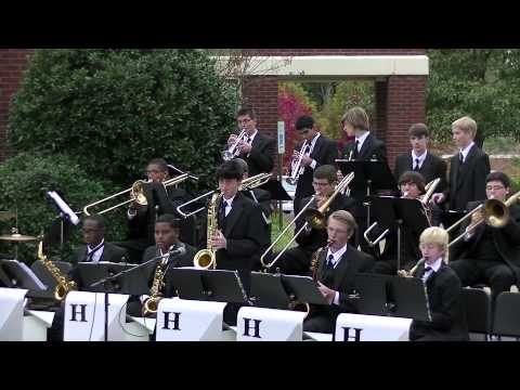 Houston High School Jazz Band On Broadway