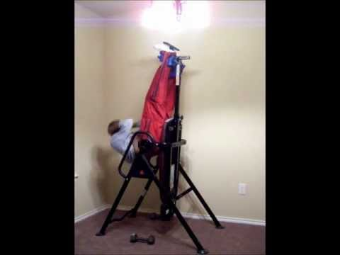 Inversion Ab Workout - IronMan LXT850 Locking Inversion Therapy Table Demo