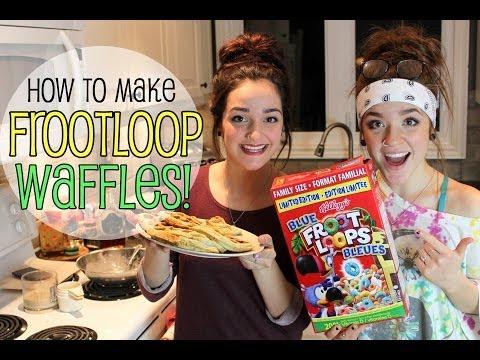 FrootLoop Waffles | Cooking DIY