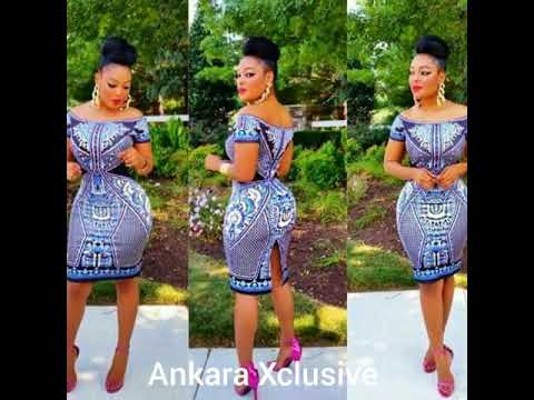 Straight Ankara Short Gown Styles Ankara Xclusive Youtube
