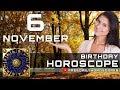 November 6 - Birthday Horoscope Personality
