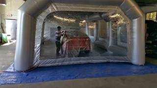 Inflatable Spray Booth Sale