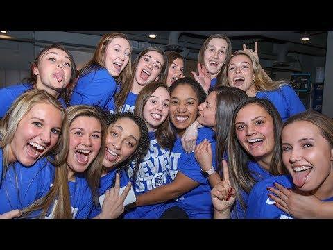 Creighton Women's Basketball Press Conference Post 2018 NCAA Selection Show