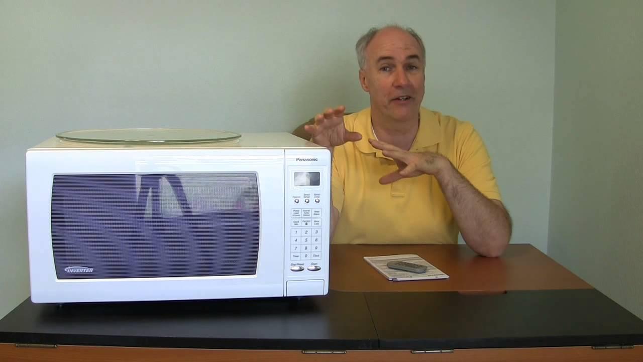 panasonic inverter microwave new technology review