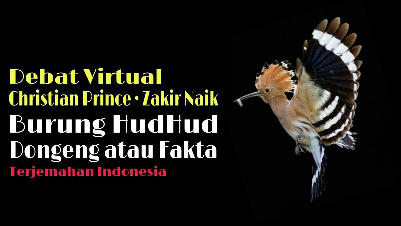 Burung Hudhud Dongeng Atau Nyata [Debat Virtual Christian Prince • Zakir Naik] Terjemahan Indonesia