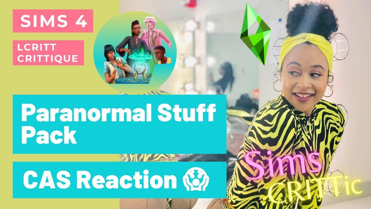 LCritt CRITTique: Sims 4 'Paranormal Stuff Pack'