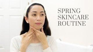 Spring Skin Care Routine 2016, spring skincare routine, skincare routine
