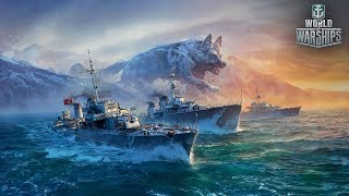World of Warships. Пострелякаем немножечко
