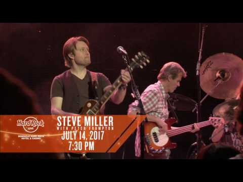 Steve Miller with Peter Frampton - 7/14/17
