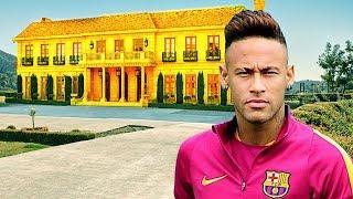 5 Footballers Craziest & Coolest Houses - 2017 [ Ft Messi,Neymar,Ronaldo,...etc ]