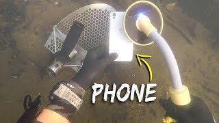 Metal Detecting Underwater for Lost Jewelry and Money! (Scuba Diving) | DALLMYD