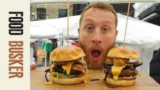 Ultimate Cheeseburger with Wagyu Beef | Food Busker