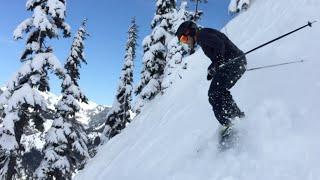 Skiing Alpental, Snowqualmie