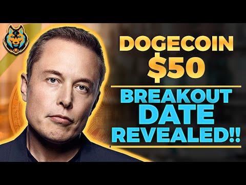 Elon Musk REVEALS WHEN DOGECOIN HIT $50 (Massive Breakout Explained) Dogecoin News