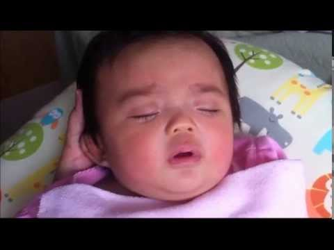 Baby Smiling, Laughing, Making Sad Faces Continuously While Sleeping