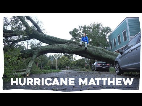 Hurricane Matthew - Savannah 2016