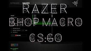 [CS:GO] Bhop Macro | Razer Synapse