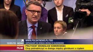Konrad Hryszkiewicz (Liberalni) vs. Przemysław Wipler (KNP) i Piotr Szumlewicz (OPZZ)