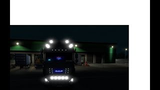 Euro Truck Simulator 2:::::# Zabawa w Tuning ciągnika siodłowego Daf XF Euro 6 Super Space