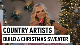Tacky Country Christmas Sweater Construction | CMA