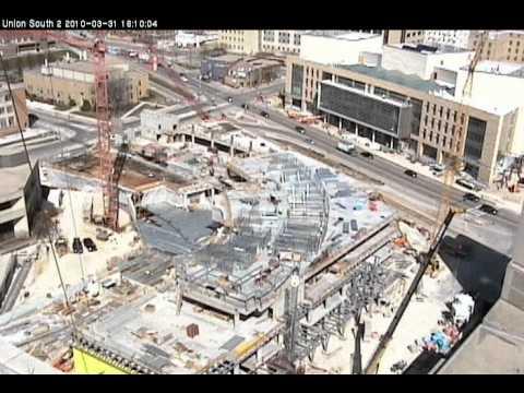 Union South Demolition/Construction (Long Version)